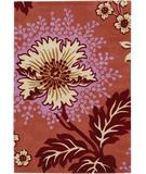 RugStudio presents Chandra Amy Butler AMY13208 Light Red Hand-Tufted, Good Quality Area Rug