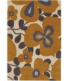 RugStudio presents Chandra Amy Butler AMY13213 Gold Hand-Tufted, Good Quality Area Rug