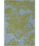RugStudio presents Chandra Amy Butler AMY13216 Blue Hand-Tufted, Good Quality Area Rug