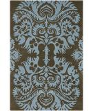 RugStudio presents Chandra Amy Butler AMY13217 Blue Hand-Tufted, Good Quality Area Rug