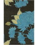 RugStudio presents Chandra Amy Butler AMY13218 Blue Hand-Tufted, Good Quality Area Rug