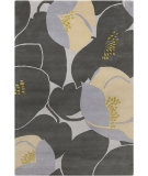 RugStudio presents Chandra Amy Butler Amy13220 Black Hand-Tufted, Good Quality Area Rug