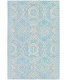 RugStudio presents Chandra Amy Butler Amy13226 Blue/ Cream Hand-Tufted, Good Quality Area Rug