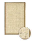 RugStudio presents Chandra Art ART3500 Beige Sisal/Seagrass/Jute Area Rug