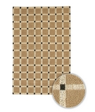 RugStudio presents Chandra Art ART3516 Sisal/Seagrass/Jute Area Rug