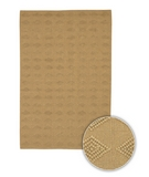 RugStudio presents Chandra Art ART3550 Gold Sisal/Seagrass/Jute Area Rug