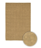 RugStudio presents Chandra Art ART3552 Gold Sisal/Seagrass/Jute Area Rug