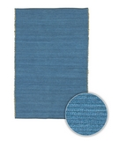 RugStudio presents Chandra Art ART3616 Turquoise Blue Woven Area Rug