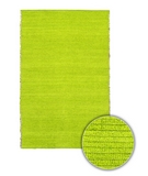RugStudio presents Chandra Art ART3618 Lime Green Sisal/Seagrass/Jute Area Rug