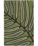 RugStudio presents Chandra Aschera Asc6406 Green Hand-Tufted, Good Quality Area Rug