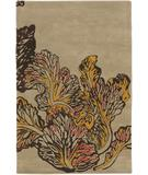 RugStudio presents Chandra Aschera ASC6408 Beige Hand-Tufted, Good Quality Area Rug