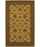 RugStudio presents Chandra Avani AVA201 Gold Hand-Tufted, Good Quality Area Rug