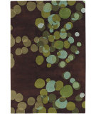 RugStudio presents Chandra Avalisa AVL6109 Brown Hand-Tufted, Best Quality Area Rug