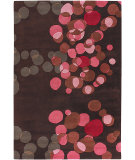 RugStudio presents Chandra Avalisa AVL6113 Dark Brown Hand-Tufted, Best Quality Area Rug