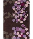 RugStudio presents Rugstudio Sample Sale 40435R Dark Brown Hand-Tufted, Best Quality Area Rug