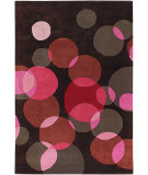RugStudio presents Chandra Avalisa AVL6115 Dark Brown Hand-Tufted, Best Quality Area Rug