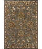 RugStudio presents Chandra Bajrang BAJ-8004 Green Hand-Tufted, Good Quality Area Rug