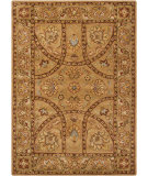RugStudio presents Chandra Bajrang BAJ-8005 Tan Hand-Tufted, Good Quality Area Rug