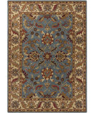 RugStudio presents Chandra Bajrang BAJ-8006 Blue Hand-Tufted, Good Quality Area Rug
