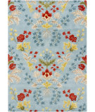 RugStudio presents Chandra Bajrang BAJ-8007 Blue Hand-Tufted, Good Quality Area Rug