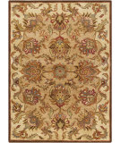 RugStudio presents Chandra Bajrang BAJ-8008 Light Brown Hand-Tufted, Good Quality Area Rug