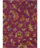 RugStudio presents Chandra Bajrang BAJ-8009 Purple Hand-Tufted, Good Quality Area Rug