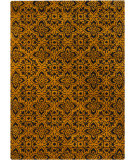 RugStudio presents Chandra Bajrang BAJ-8015 Gold Hand-Tufted, Good Quality Area Rug