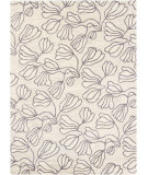 RugStudio presents Chandra Bajrang BAJ-8017 Antique White Hand-Tufted, Good Quality Area Rug