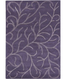 RugStudio presents Chandra Bajrang BAJ-8018 Purple Hand-Tufted, Good Quality Area Rug