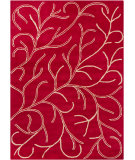 RugStudio presents Chandra Bajrang BAJ-8019 Red Hand-Tufted, Good Quality Area Rug
