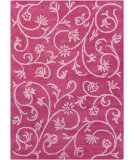 RugStudio presents Chandra Bajrang BAJ-8021 Fuchsia Hand-Tufted, Good Quality Area Rug