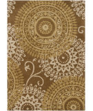 RugStudio presents Chandra Bajrang BAJ-8025 Brown Hand-Tufted, Good Quality Area Rug