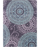 RugStudio presents Chandra Bajrang BAJ-8026 Blue Hand-Tufted, Good Quality Area Rug