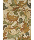 RugStudio presents Chandra Bajrang BAJ-8029 Brown Hand-Tufted, Good Quality Area Rug