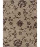 RugStudio presents Chandra Bajrang BAJ-8030 Brown Hand-Tufted, Good Quality Area Rug