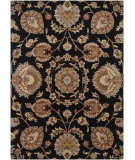 RugStudio presents Chandra Bajrang BAJ-8032 Black Hand-Tufted, Good Quality Area Rug
