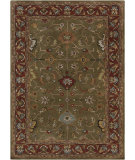 RugStudio presents Chandra Bajrang BAJ-8044 Green Hand-Tufted, Good Quality Area Rug