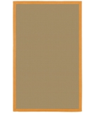 RugStudio presents Chandra Bay Orange Sisal/Seagrass/Jute Area Rug