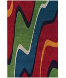 RugStudio presents Chandra Bense Garza BEN3001 Multi Hand-Tufted, Good Quality Area Rug