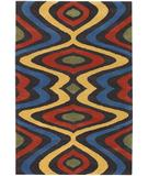 RugStudio presents Chandra Bense Garza BEN3008 Rainbow Hand-Tufted, Good Quality Area Rug