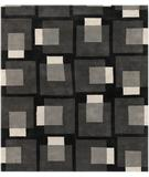 RugStudio presents Chandra Bense Garza BEN3009 Charcoal Hand-Tufted, Good Quality Area Rug