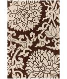RugStudio presents Chandra Thomas Paul - Tufted Pile Blossom Chocolate BLCC Hand-Tufted, Good Quality Area Rug