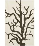 RugStudio presents Rugstudio Sample Sale 37276R Cream-Brown CDCB Flat-Woven Area Rug