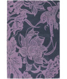 RugStudio presents Chandra Counterfeit Cou18203 Violet Hand-Tufted, Good Quality Area Rug