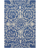 RugStudio presents Chandra Counterfeit Cou18208 Blue Hand-Tufted, Good Quality Area Rug