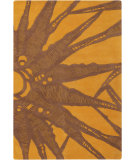 RugStudio presents Chandra Counterfeit Cou18210 Brown Hand-Tufted, Good Quality Area Rug