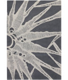 RugStudio presents Chandra Counterfeit Cou18211 Light grey Hand-Tufted, Good Quality Area Rug