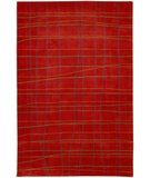 RugStudio presents Chandra Daisa DAI11 Red Hand-Tufted, Good Quality Area Rug