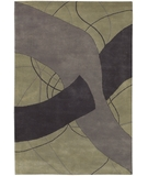 RugStudio presents Chandra Daisa DAI4 Grey Hand-Tufted, Good Quality Area Rug