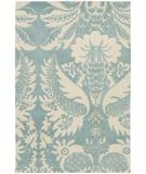 RugStudio presents Chandra Thomas Paul - Tufted Pile Damask Powder-Cream DAPDC Hand-Tufted, Good Quality Area Rug